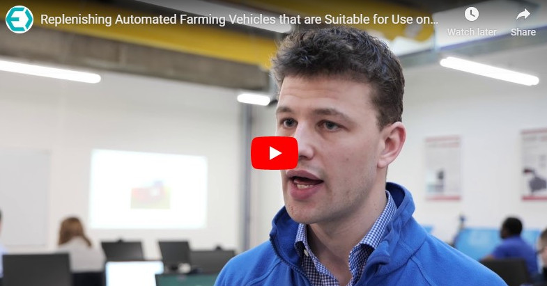 Replenishing Automated Farming Vehicles that are Suitable for Use on Small Farms in Ireland
